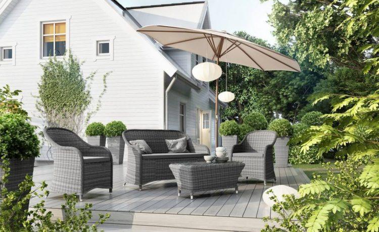 Meble do nowoczesnego ogrodu w minimalistycznej odsłonie